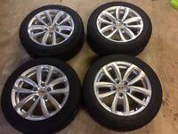 "17"" alloy wheels winter tyres"