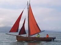 20' GALWAY HOOKER CLASSIC GLEOITEOG REFITTED COMPLETELY 2012 £8500 JUST REDUCED