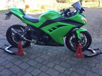 2013 Kawasaki Ninja 300 ABS Special Edition. 3,428 miles. Excellent condition. A2 Licence ready.