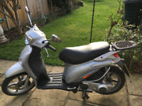 Piaggio Liberty 125cc motorcycle, excellent condition and great fun to ride!