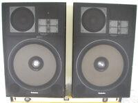 TECHNICS MODEL SB-G900 4 WAY SPEAKER SYSTEM 8-OHM 300-W MUSIC X TWO SPEAKERS