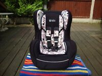 BABY WEAVERS BABY/CHILD CAR SEAT (0 to 18kg) 0-4 years approx