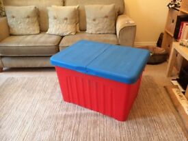 Extra Large Plastic Storage Box