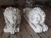 Chatsworth Sleeping Lions