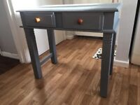 Solid Wood Small Desk with Draws
