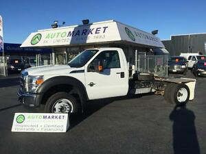2016 Ford F-550 Regular Cab XLT DRW 4WD only 21 KM'S
