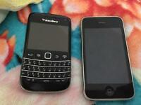 iPhone 3GS and Blackberry Bold 9790