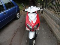 Peugeot SPEEDFIGHT 49cc, MOT TO 13/06/2017,