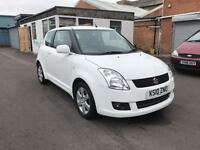 SUZUKI SWIFT 1.3 SZ4 3 DOOR WHITE