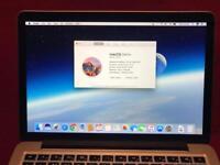"""13"""" MacBook Pro RETINA 2.6Ghz i5, 256Gb Flash Storage, 8Gb Ram."""