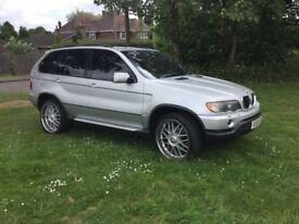 BMW X5 3.0 i sport 2002 vgc part x swop