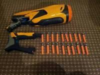 Nerf Dart tag 20 electronic battery powered swamfire gun blaster bullets weapon