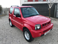 rare Suzuki Jimny Jlx Automatic ! 1.3 cc 4x4 - New 1 years MOT - low miles - great driver very clean