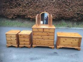 Westminster pine bedroom suite * free furniture delivery *