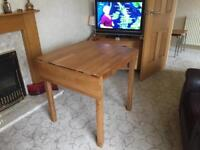 Kitchen/small dining table with 3 chairs