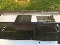 Stainless Steel Sinks - Catering Equipment