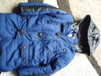 Boys coat size 5-6 years