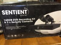 Cctv security kit with 4 cameras sentient brand new never used