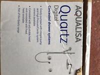 Aquila quartz digital shower