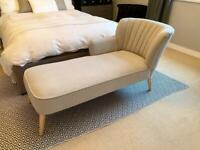 Grey Chaise Longue