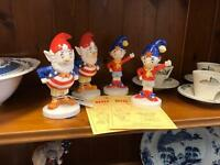 Royal doulton Noddy and Big Ears figures