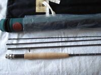 HARDY JET Sintrix fly rod mint unused 9ft #6 weight