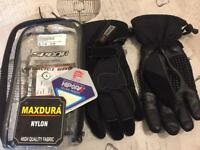 Ladies Spada motorcycle gloves small