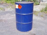 Steel Drums 205 litre barrels used