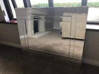 NEXT Double Bevel Large Mirror