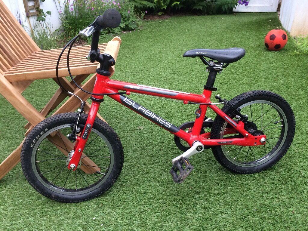 Islabike Cnoc 14 Red Bike For 3 4 Year Olds In Pontcanna Cardiff