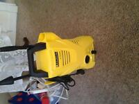 kercher power washer. hardly used with attachments and cleaning fluids