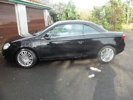 VW EOS convertible diesel automatic 2.0