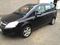 VAUXHALL ZAFIRA 2008++7 SEATER FULL YEAR MOT EXCELLENT CONDITION