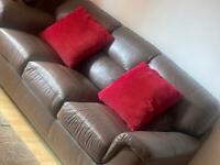 3seater sofa leather