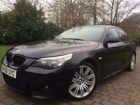 "2006 BMW 520D MSPORT FSH 2 KEYS 19"" Spider wheels"