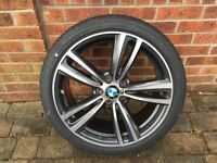 "New BMW Alloy Wheels + Tyres. Style 442 19"" Ferric Grey wheels with Run Flat tyres."