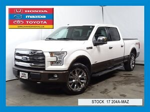 2015 Ford F-150 FX4+LARIAT+TOIT PANO+GPS+ECO BOOST+++