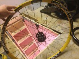 Bike wheel mtb 27.5 nukeproof
