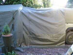 Land Rover Military Defender 90/110/Wolf/FFR 9×9 Tent Connecting Tunnel Port NEW