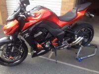 Kawasaki z1000 2014 stunning bike wiuth over £1000 WORTH OF ACCESORIES