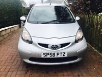 """ONLY £20 YEAR TAX """"LOW INSURANCE GROUP 2008 TOYOTA AYGO 1.0 VVT PLATINUM HALF LEATHER"""