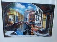 Original painting of Venice