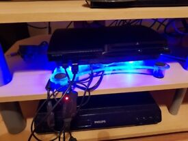 500GB PS3 Console with games, controllers, Move camera and extras