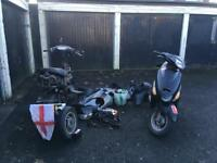 50cc joblot one runner