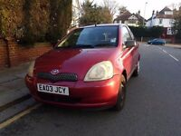 Absolutely immaculate 2003 Toyota Yaris superb drive