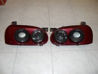 Golf MK3 Genuine Hella DE Smoked Dual Headlights GTI VR6 US CC Rare