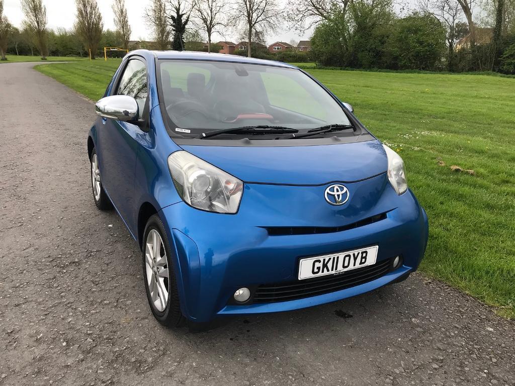Toyota IQ Cheap Hatchback Like Citroen Aygo Peugeot Vauxhall