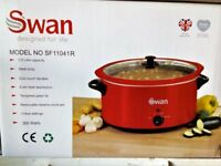 SWAN SF11041........ 5.5 LT....... SLOW COOKER LARGE..x2 available...15.00 each.