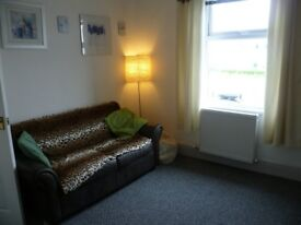 FULLY FURNISHED 1 BEDROOM FLAT TO LET READY NOW.