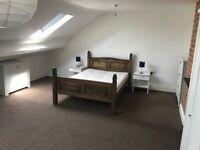 Large luxury attic room, Earlsdon, Coventry